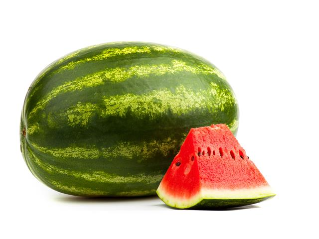 oblong fruit watermelon