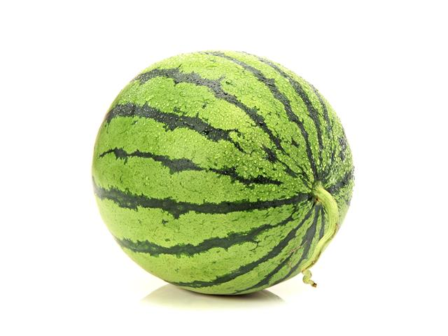 Seedless fruits watermelon
